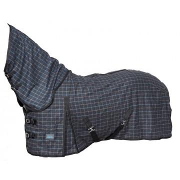 Horse Comfort villaloimi fullneck harmaaruudullinen