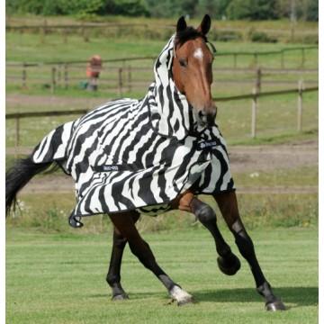 Bucas Buzz-Off Zebra hyönteisloimi kaulaosalla