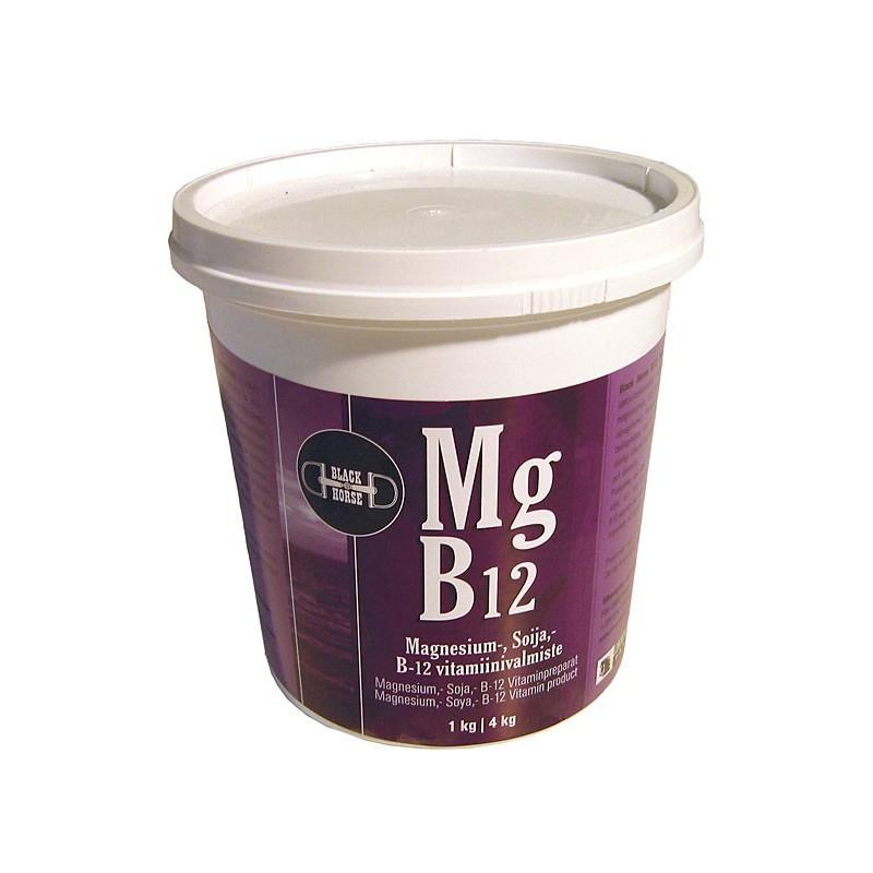 Black Horse Mg B12 magnesiumvalmiste 1kg