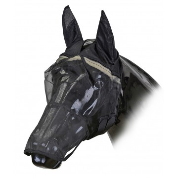 Horse Guard Hyönteismaski turpaosalla musta S