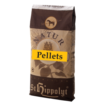 St. Hippolyt Natur Pelletti yrteillä 25kg