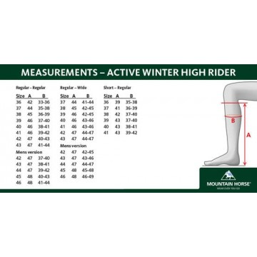 Mountain Horse Active winter high rider talvisaapas