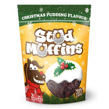 "STUD MUFFINS ""Christmas Pudding"" 400 g"