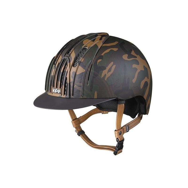 KEP Camouflage matta ratsastuskypärä